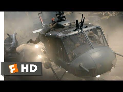 Jumanji: Welcome to the Jungle (2017) - Helicopter Rhino Chase Scene (6/10) | Movieclips